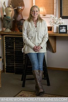 Linda Wright creates beautiful one-of-a-kind jewelry from antique Parisian buttons. She shares her inspiring story of never giving up in the summer 2016 issue of Where Women Create Business.