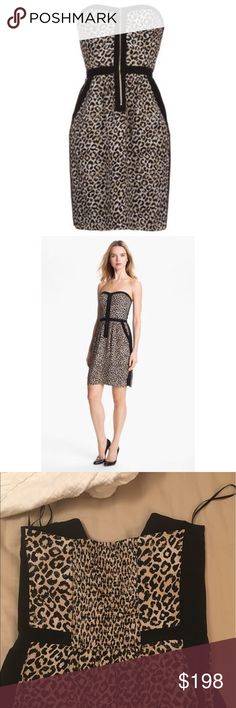 Rebecca Taylor 'Leo' Dress NWOT Smocked back, front zip. Fully lined. Perfect like-new condition. No flaws. Sweetheart neckline, pockets, a-line Rebecca Taylor Dresses