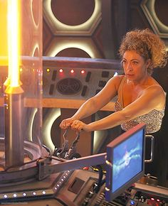 Alex Kingston as River Song, The Husbands of River Song - Christmas 2015 promo #6