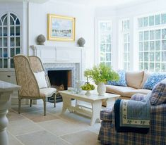 Designer Louise Brooks' Elegant Home on Long Island Sound - Traditional Home® Lynn Morgan Design