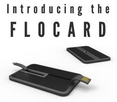 FloCard Cordless iPhone Charger | #Prefundia