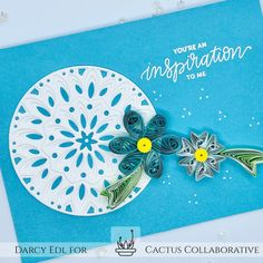 Quilling Cards, Quilling Designs, Simple Flowers, Flower Tutorial, Greeting Cards Handmade, Small Groups, Fine Art Photography, Cactus, Art Pieces