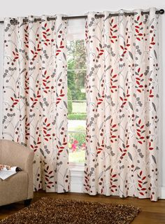 Dayton Canvas Lined Tab Top Curtains Littlewoods 1026258863prd
