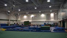 Gymnastics training facilities Gymnastics Training, Baseball Training, Sport Gymnastics, Spartan Sports, Olympic Sports, Softball, Olympics, Basketball Court, Student