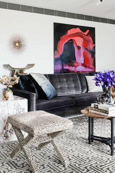 David Hicks' Melbourne penthouse...