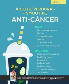 7 Top Ingredients For Cancer Fighting Smoothie Recipes Healthy Juices, Healthy Smoothies, Healthy Drinks, Healthy Tips, Smoothie Recipes, Healthy Foods, Cancer Fighting Foods, Juice Beauty, Juice Smoothie