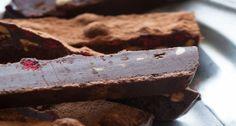 Raw Chocolate Fridge Cake