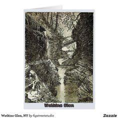 Watkins Glen, NY Card