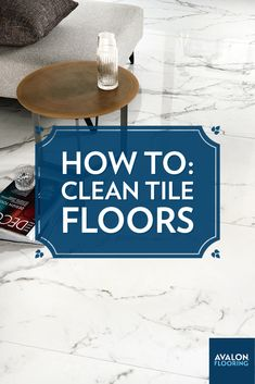 """Get the tile,"" they said, ""it's water resistant and easy to clean."" But there you are, standing looking at grungy tiles and grout after the shine and luster has worn off from everyday use and exposure to dirt on the floor. Don't worry – we can help guide you with tips on how to restore the original beauty of your tile!"