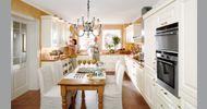 Cocina Clásica The Singular Kitchen: Marco blanco antiguo