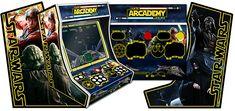 Thème graphique Star Wars pour le kit borne d'arcade bartop 2 joueurs arcademy.   plus d'infos : http://www.arcademy.fr