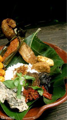 Nasi Jamblang Cirebon at Lara Djonggrang