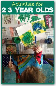 This is a great blog if you're looking for fun crafts and learning activities for preschoolers aged around 2-3 year olds