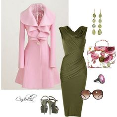 Pretty in Pink, created by c1nd1rella on Polyvore