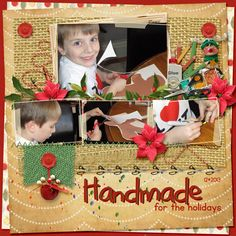 What fun! Captured here by Renee, and showcased in Handmade Christmas