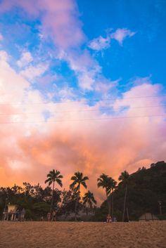 Sunset, Hawaii