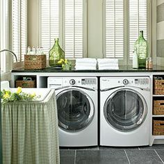 The Laundry Room < Nashville Idea House at Fontanel - Southern Living Mobile