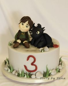 How to Train Your Dragon - Cake by grasie