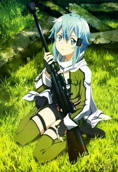 Sword art online season 2. Gun Gale Online Sinon