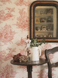 Vintage French Country Style. Image Country Home and Interiors.co.uk