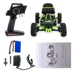 Wltoys 12428 High Speed Electric Brushed Crawler Desert Truck RC Offroad Buggy Vehicle with LED Light on Aliexpress IFound Brushed Buggy LED Offroad Truck Vehicle Remote Control Cars, Radio Control, Offroad, Mercedes Stern, Off Road Buggy, Nissan Leaf, Drifting Cars, Electric, Trucks