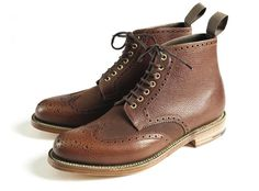 Barbour for Grenson Shoes