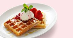 Mother's Day Recipe: Strawberry Waffles