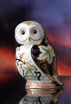Royal Crown Derby Twilight Owl