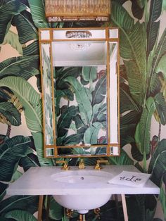 downstairs loo martinique by beverley hills wallpaper