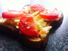The humble - cheese and tomato on toast!  #allergies #dairy #tomato  Come over to Facebook to see what your body most wants to eat.  I'll test for you!