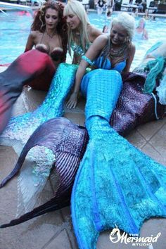 365mermaid:    9.11.2012 MeduSirena, Hannah Mermaid, and Mermaid Kylee at:  Mermaid Convention (MerCon) Silverton Lodge and Casino 3333 Blue DIamond Rd. Las Vegas, NV 89139