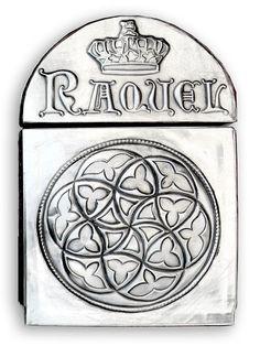 ArteyMetal: Baúl  RAQUEL  y  JAVIER - Lateral