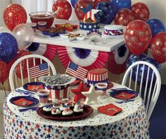 July 4th Party Decoration Ideas