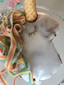 Unicorn Party, Creative Food, Unicorns, Food And Drink, Sweets, Birthday, Cake, Birthdays, Good Stocking Stuffers