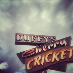 Duffy's Cherry Cricket, Denver, CO. Delicious burgers