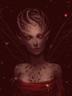 Lady Bug by *telthona on deviantART