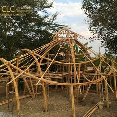 bamboo construction #chiangmailifeconstruction #bambooarchitecture #eartharchitecture
