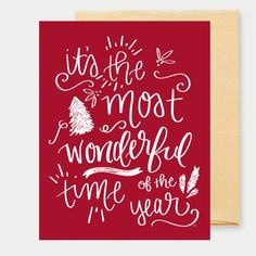 The 160 pc holiday greeting card set is perfect for anyone with a its the most wonderful time of the year greeting card m4hsunfo