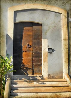 Italian Doors #14, Rome by h_roach - Moving and will be busy for a while, via Flickr