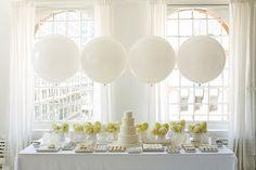 Eyelet White Dessert Table