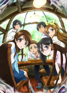 30 Day Anime Challenge- Day 6 Anime you wanna see: GLASSLIP! I dunno why it just looks good!