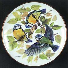 Tirschenreuth Band's Songbirds of Europe: Blue Titmouse - Artist: Ursula Band