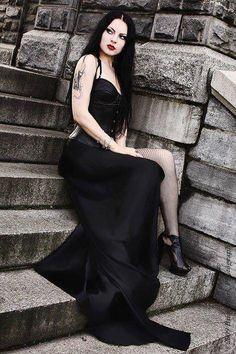 Model: Liama Babalon Welcome to Gothic and Amazing   www.gothicandamazing.com