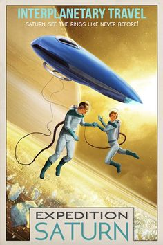 Post with 34 votes and 23973 views. Tagged with , Awesome, , ; Shared by lynxcollection. Retro Space Travel Posters from Lynx Art Collection Arte Sci Fi, Sci Fi Art, Science Fiction Kunst, Aliens, Cool Posters, Space Posters, Vintage Space, Space Travel, Vintage Travel Posters