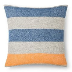 Faribault for Target Envelope Wool Pillow Cover with Fringe - … - shows more content