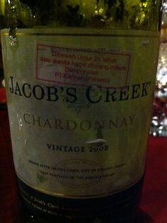 Very nice australian wine