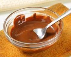 glacage au chocolat