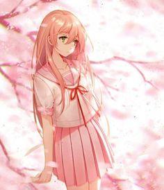 ideas for wall paper anime kawaii pink Anime Oc, Anime Angel, Anime Neko, Manga Anime, Pink Hair Anime, Anime Girl Pink, Anime Girl Cute, Beautiful Anime Girl, Kawaii Anime Girl