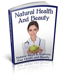 Cool free book! Natural Health and Beauty - There are so many pills and potions on the shelves that all claim to work wonders but it only leaves us questioning which ones to trust. This book provides you with natural cures that you can rely on and have faith in.