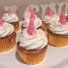 Unicorn cupcakes More
